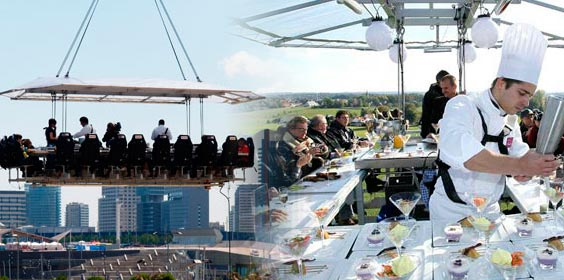 dinner in the sky empresas madrid